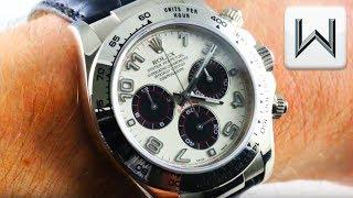 Rolex Daytona Panda Dial, Full Strap, White Gold (116519) Cosmograph Daytona Luxury Watch Review