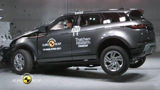 2020 Range Rover Evoque Crash Test