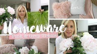 Homeware Haul | Blush Pink & Grey Theme | Homesense, Dusk Luxury Bedding & Wilko