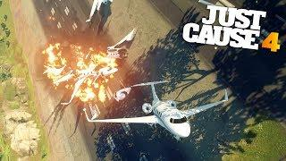LUXURY PRIVATE PLANE STUNTS in Just Cause 4