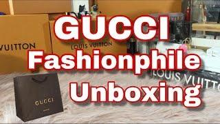 GUCCI FASHIONPHILE UNBOXING + A VERY COOL FIND..SEE WHAT IT IS!
