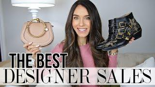 The BEST Luxury Handbag & Shoe Sales! (YSL, Chloe, Fendi, Givenchy, etc)