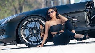 A Lady Bought A New Luxury Car