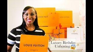 Massive Luxury Birthday Haul | Chanel | Louis Vuitton | Hermes | Gucci Unboxing