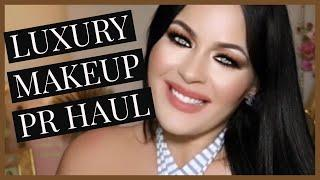 LUXURY MAKEUP PR UNBOXING HAUL!