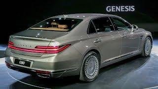 2020 Genesis G90 facelift – Fullsize luxury sedan