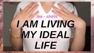I Am Living My Ideal Life Right Now | T-shirt Announcement // Cherry Tung