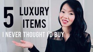 LUXURY ITEMS I THOUGHT I'D NEVER BUY! | FashionablyAMY