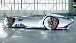 Mercedes Vision EQ Silver Arrow - Progressive Luxury